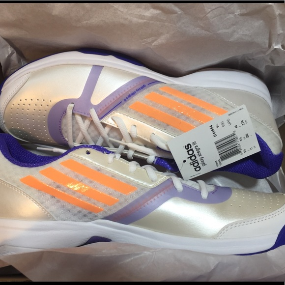 c10625507 NWT Adidas Galaxy Allegra tennis sneakers